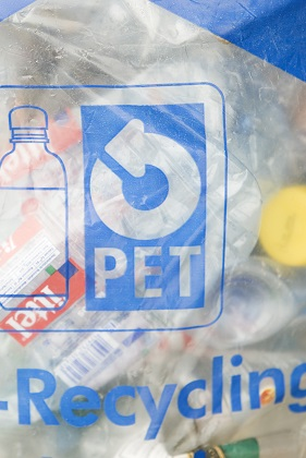 Plastics recycling - PET Recycling bag