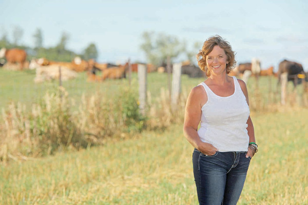 Canadian farmer Kim Jo Bliss