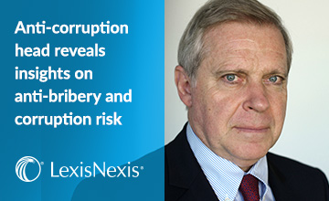 Anti-corruption head reveals insights on anti-bribery and corruption risk