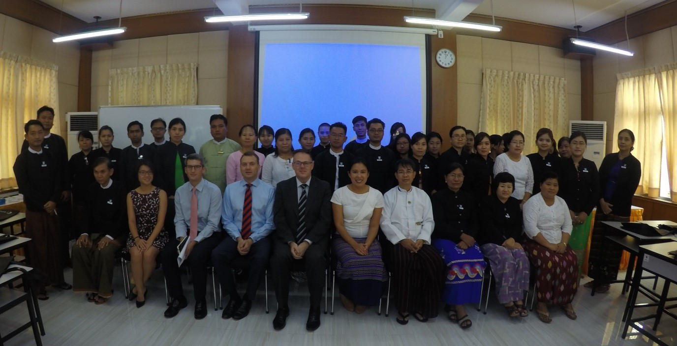 Lawyers from the Juris Pilot travel to Myanmar to deliver training