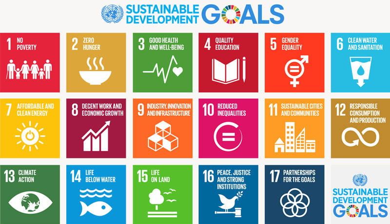 Sustainable Development Goals table