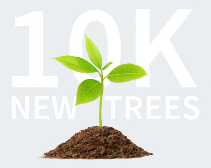 PCC Systems community 10K Trees challenge
