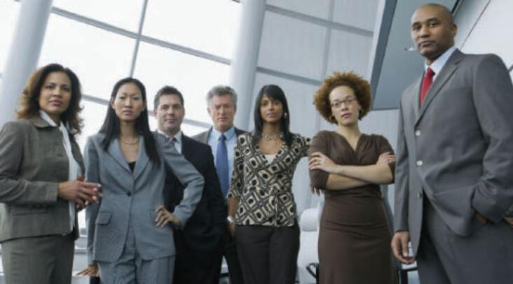 Diversity of gender and race within senior management roles leads to better thinking and decisionmaking