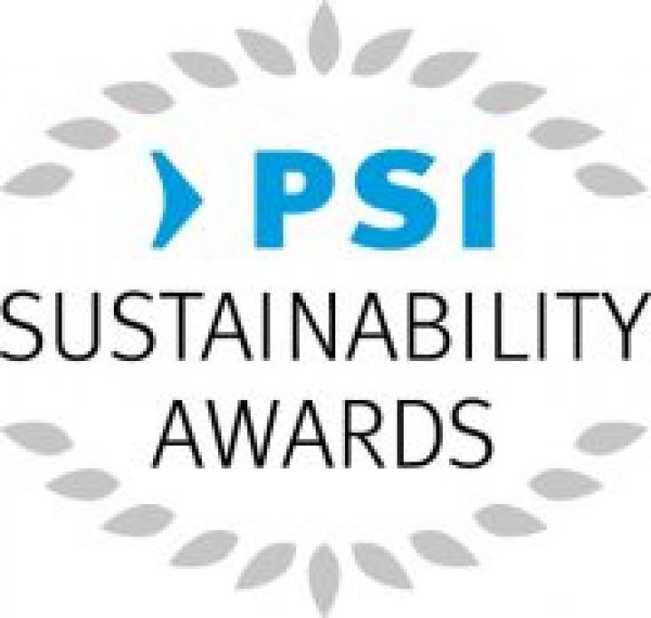 PSI Trade show - award logo