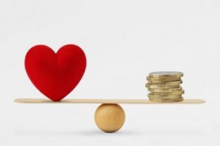 Balancing happiness and finances