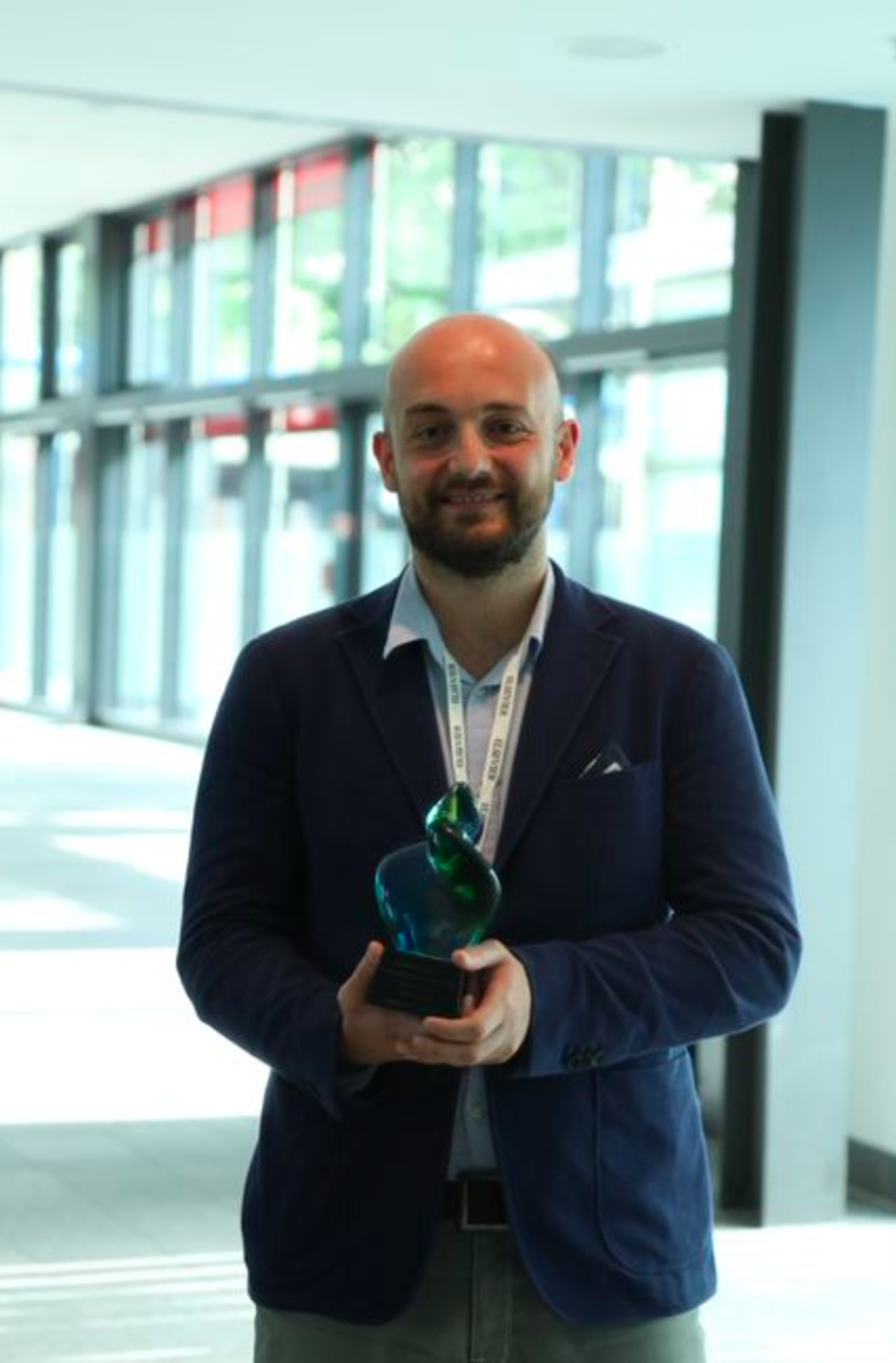 2018 Elsevier Foundation Green and Sustainable Chemistry Challenge second prize winner, Dr. Alessio Admiano