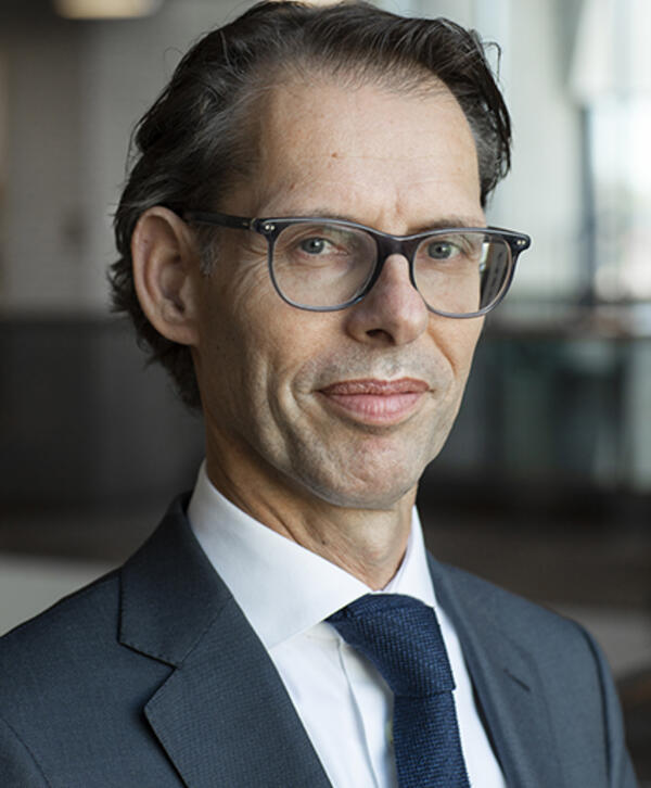 Image of Dimitri de Vreeze, CEO of Royal DSM, and Chief Operating Officer