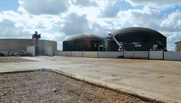 The 500kW anaerobic digestion plant in Murrow in 2010