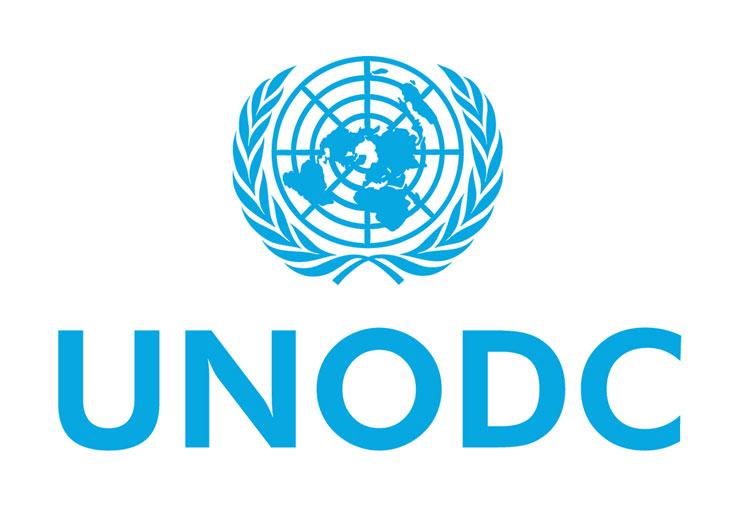 United Nations on Drugs and Crime header logo