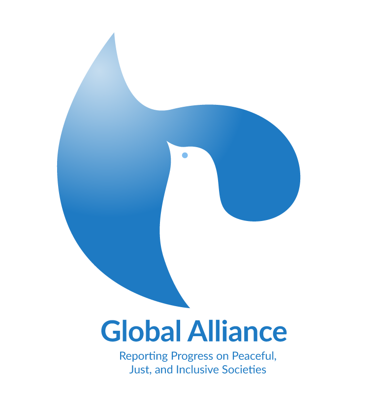 Global Alliance logo - Reporting Progress on Peaceful, Just, and Inclusive Societies